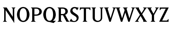 Matrix II Ext OT Semi Narrow Font UPPERCASE