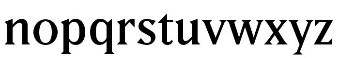 Matrix II Hilite OT Extra Bold Font LOWERCASE
