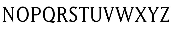 Matrix II Script OT Book Font UPPERCASE