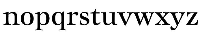 Mauritius Condensed Font LOWERCASE