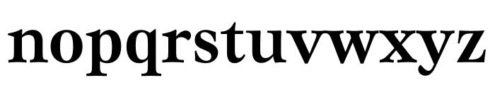 Mauritius Medium Condensed Font LOWERCASE
