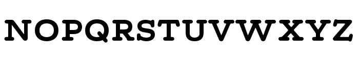 Maxular Bold Font UPPERCASE