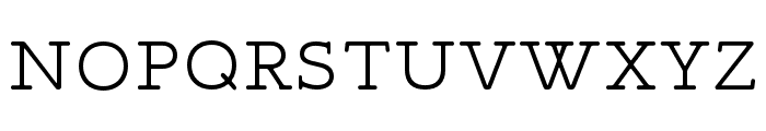 Maxular ExtraLight Font UPPERCASE
