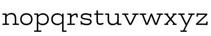Maxular ExtraLight Font LOWERCASE