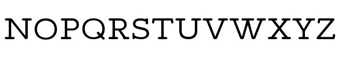 Maxular Light Font UPPERCASE