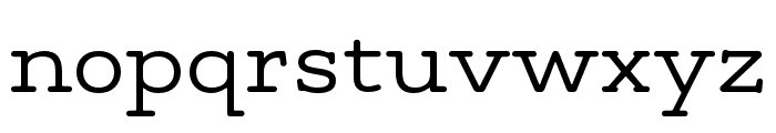 Maxular Light Font LOWERCASE