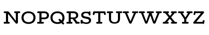 Maxular Medium Font UPPERCASE