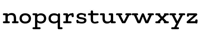 Maxular Medium Font LOWERCASE