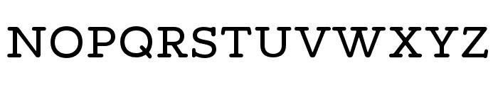 Maxular Regular Font UPPERCASE