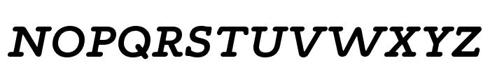 Maxular SemiBold Italic Font UPPERCASE