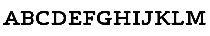 Maxular SemiBold Font UPPERCASE