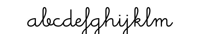 Memimas Pro Medium Font LOWERCASE