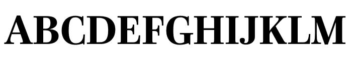 Mencken Std Bold Font UPPERCASE