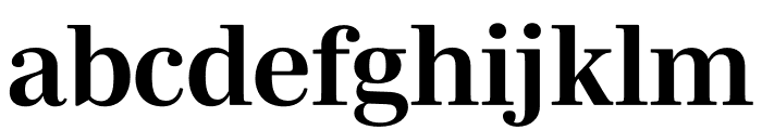 Mencken Std Bold Font LOWERCASE