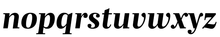 Mencken Std ExtraBold Italic Font LOWERCASE