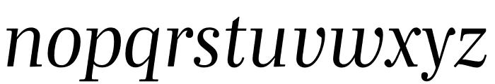 Mencken Std Head Italic Font LOWERCASE