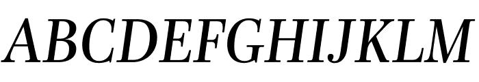 Mencken Std Italic Font UPPERCASE