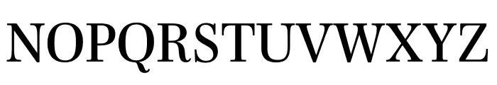 Mencken Std Regular Font UPPERCASE