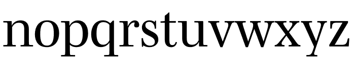 Mencken Std Regular Font LOWERCASE