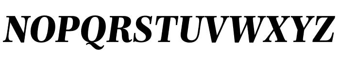 Mencken Std Text ExtraBold Italic Font UPPERCASE
