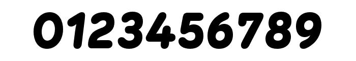 Menco Black Italic Font OTHER CHARS
