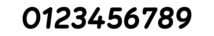Menco Bold Italic Font OTHER CHARS