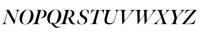 Meno Banner Bold Italic Font UPPERCASE