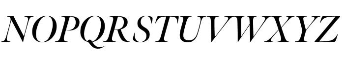 Meno Banner Condensed Semi Bold Italic Font UPPERCASE