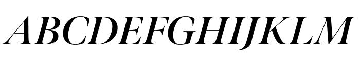 Meno Banner Extra Condensed Bold Italic Font UPPERCASE