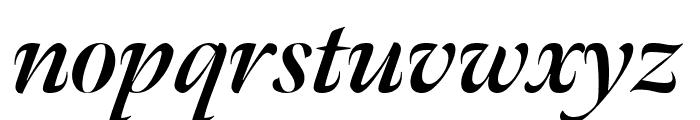 Meno Banner Extra Condensed Bold Italic Font LOWERCASE