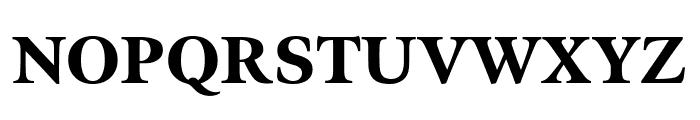 Meno Display Black Font UPPERCASE