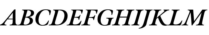Meno Display Bold Italic Font UPPERCASE