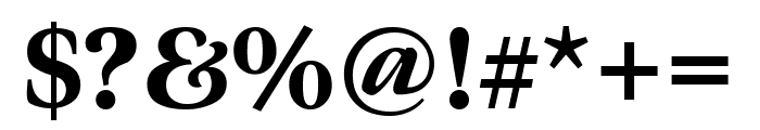 Meno Display Condensed Black Font OTHER CHARS