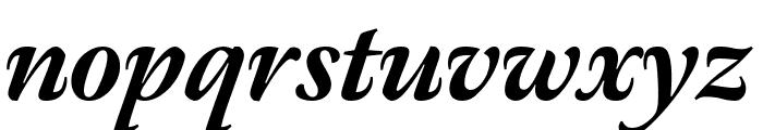 Meno Display Condensed Extra Bold Italic Font LOWERCASE