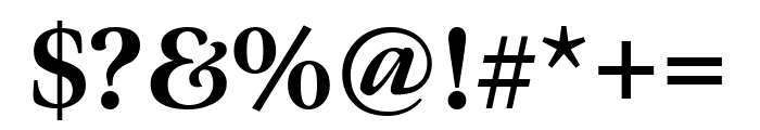 Meno Display Condensed Extra Bold Font OTHER CHARS