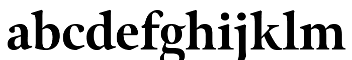 Meno Display Condensed Extra Bold Font LOWERCASE