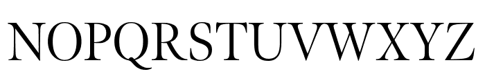 Meno Display Condensed Light Font UPPERCASE