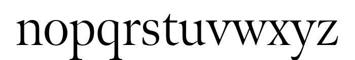 Meno Display Condensed Light Font LOWERCASE