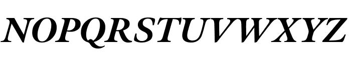 Meno Display Extra Bold Italic Font UPPERCASE