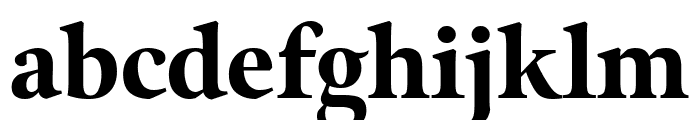 Meno Display Extra Condensed Black Font LOWERCASE