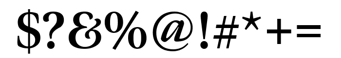 Meno Display Extra Condensed Bold Font OTHER CHARS