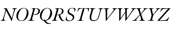 Meno Display Extra Condensed Italic Font UPPERCASE