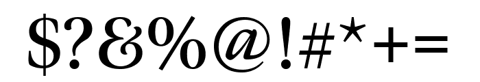 Meno Display Extra Condensed Semi Bold Font OTHER CHARS
