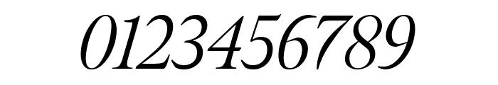 Meno Display Light Italic Font OTHER CHARS