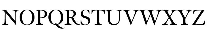 Meno Display Regular Font UPPERCASE