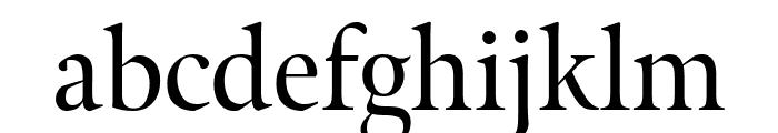 Meno Display Regular Font LOWERCASE