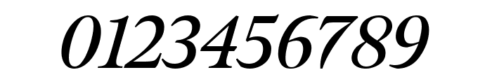 Meno Display Semi Bold Italic Font OTHER CHARS