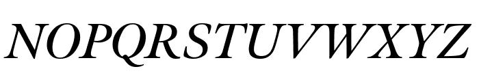 Meno Display Semi Bold Italic Font UPPERCASE