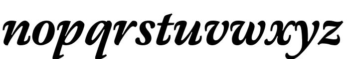 Meno Text Bold Italic Font LOWERCASE