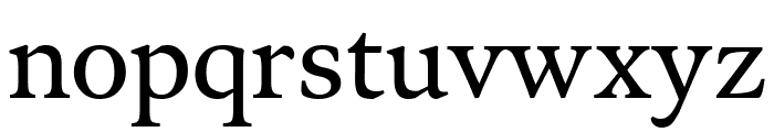 Meno Text Regular Font LOWERCASE